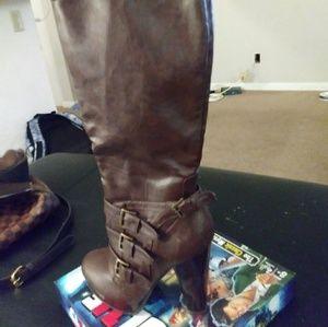 Womens high heel boots
